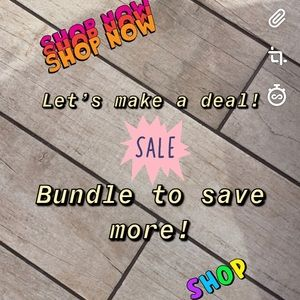 Send me your best offers, bundles to save more!
